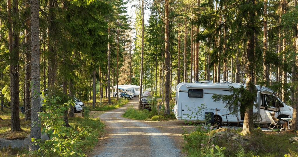 Camping husbil och husvagn
